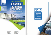The sparkling, sunny images above are from publications of the International Hydropower Association. (Manitoba Hydro vice president Ken Adams also serves as a vice president for the IHA.)