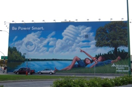 "In Manitoba, two of the most common terms used by the utility to describe hydropower are ""renewable"" and ""clean."" But defining these terms is a messy business. The pristine image on the Manitoba Hydro mural above does not reflect everyone's experience of hydro."